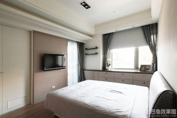 床的设计图08自己做-别墅卧室飘窗设计 装修效果 图 卧室飘窗装修效果