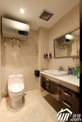简约风格客厅# 浴室柜装修效果图45