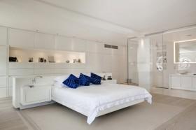 简约风格 卧室 床头 软包 装修效果图 大全2014 高清图片