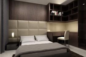 户型卧室床头 软包 冷色 装修效果图 大全 2014 图 高清图片