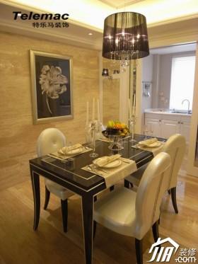 欧式风格二居室暖色调装修效果图20