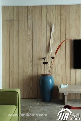 客厅,沙发,窗帘 我喜欢  17图集  15  张图片 三米设计-黄绿原木清新