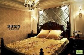 欧式风格卧室床头软包装修效果图大全2014图 高清图片