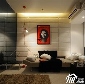 空间新古典风格床头软包床装修效果图大全2014图片 高清图片