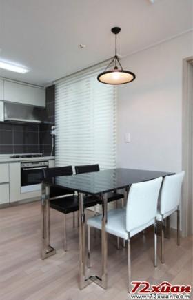 品质舒适 90平米 餐厅 背景墙 装修效果图大全高清图片