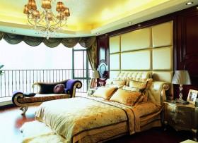 卧室 床头软包 暖色装修效果图大全2014图片 高清图片