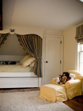 复式复式楼明朗可爱的儿童房装修效果图大全2012图片