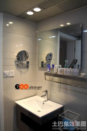 卫生间地台现代卫生间洗脸盆设计图片