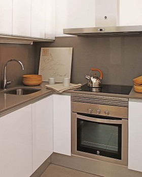 欧式风格小户型80后喜欢的欧式现代风格小户型厨房橱柜装修效果图大全