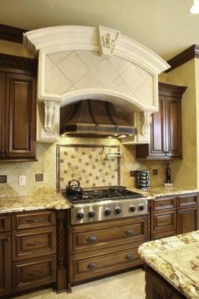 美式风格200万打造豪华美式风格厨房橱柜装修效果图大全2012图片图片