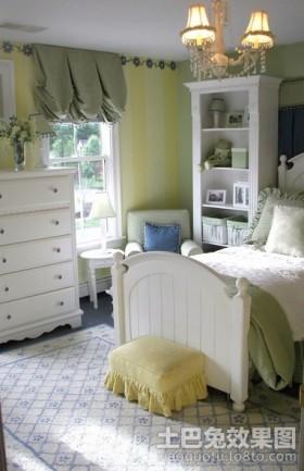 风格储物柜欧式女生卧室装修设计图