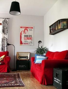 面积小户型60平小户型客厅沙发装修效果图