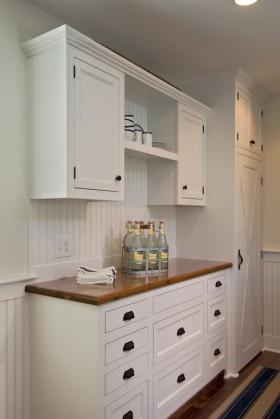 空间欧式风格欧式白色橱柜装修效果图