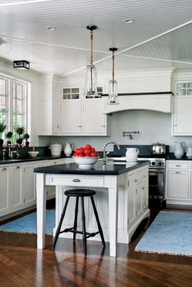 吊顶欧式风情厨房天花板吊顶装修效果图