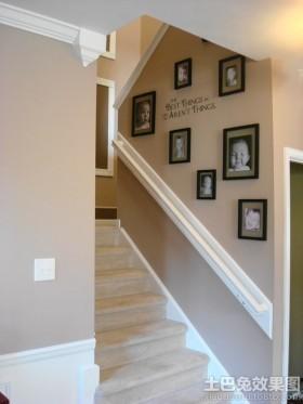 楼梯封闭楼梯间墙面装饰效果图