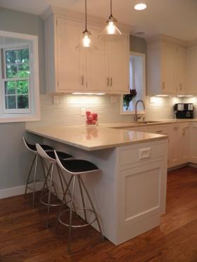 欧式风格厨房欧式风格厨房吧台装修效果图欣赏图片