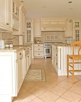 别墅别墅欧式厨房装修效果图大全2013图片