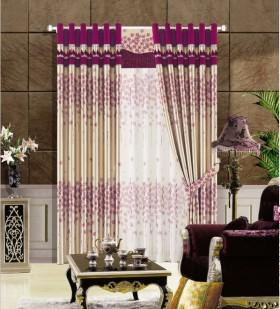 欧式风格欧式室内客厅窗帘装修效果图