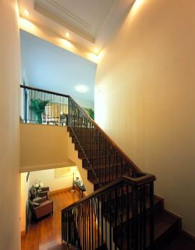 转角楼梯装修效果图大全201.