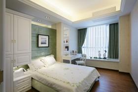 欧式卧室飘窗设计效果图图片