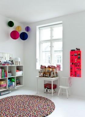 局部北欧风格北欧风格儿童书房装修图片图片