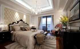 空间欧式风格欧式主卧室吊顶装饰效果图图片