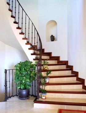 复式楼梯装修效果图 2013.图片