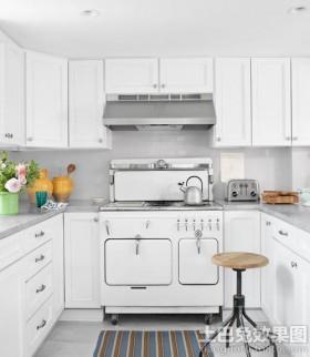 白色橱柜装修效果图大全2014图片_白色橱柜装修设计图