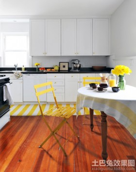 欧式风格开放式厨房欧式橱柜图片