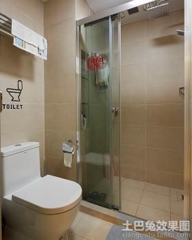 卫间隔断淋浴房隔断装修效果图