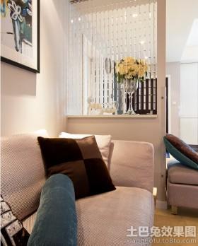 沙发2013年客厅隔断装修效果图