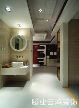 小户型现代风格小户型洗手间装修效果图