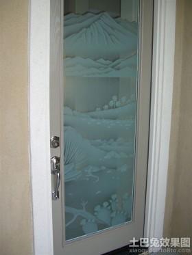 欧式风格简欧风格家居艺术玻璃门图案大全