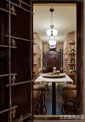 家庭装修酒柜装修效果图欣赏