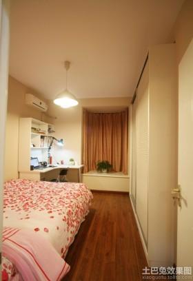儿童卧室小飘窗装修效果图