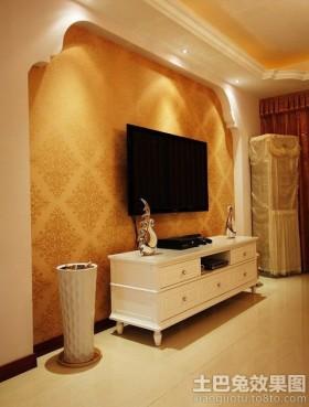 壁纸欧式电视背景墙壁纸图片