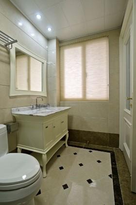 欧式风格2013年简欧卫生间装修效果图
