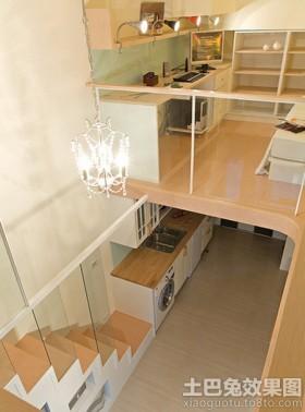 跃层50平米小户型家庭装修效.