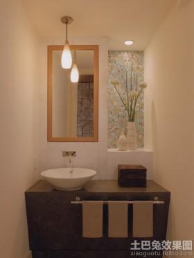 洗手臺燈具衛生間壁龕效果圖