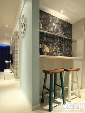 小户型小型家庭吧台装修效果图欣赏