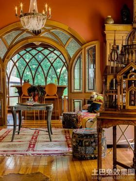 客厅产品哥特式风格室内设计图片