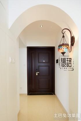 风格玄关家装拱形门效果图