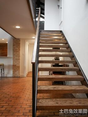 別墅室內樓梯設計效果圖大全