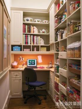 风格书房宜家风格书房转角书柜设计图