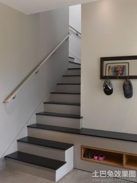 局部鞋柜楼梯鞋柜设计图