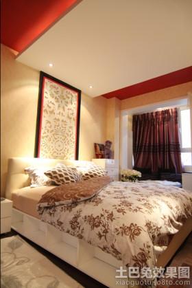 现代风格产品# 小户型卧室床头背景墙效果图大全