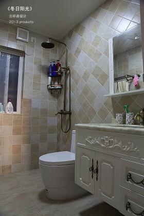 简约风格简欧式卫生间浴室柜装修效果图
