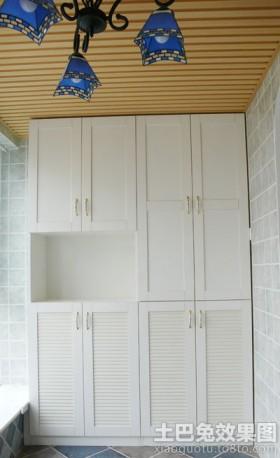 阳台储物柜用什么材料-最实用的阳台储物柜,阳台储物图片