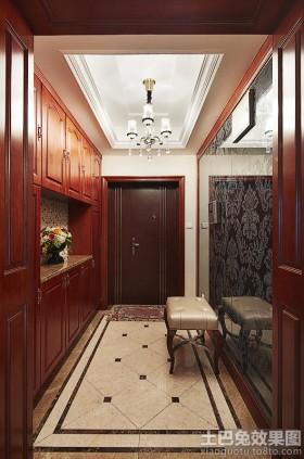美式风格玄关美式入户玄关设计效果图图片