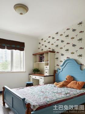 卧室地中海风格60平米小户型卧室效果图